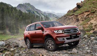 Chứng minh sự chính xác của cái tên Ford Everest Sport 2021
